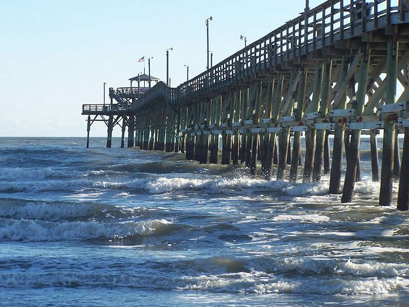 Cherry Grove Pier in NMB